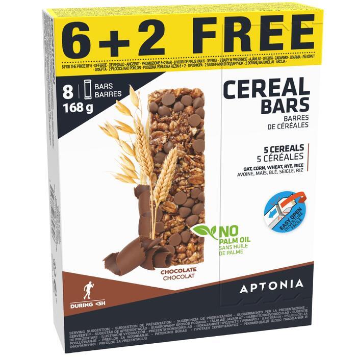 Barre céréales Chocolat (6+2 gratuites) X 21g