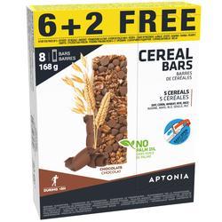 Graanreep chocolade (6 + 2 gratis) x 21 g