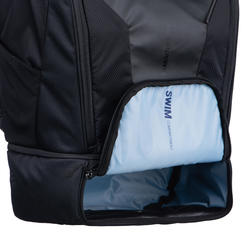 APTONIA TRIATHLON TRANSITION BAG 35 L - BLACK/BLUE