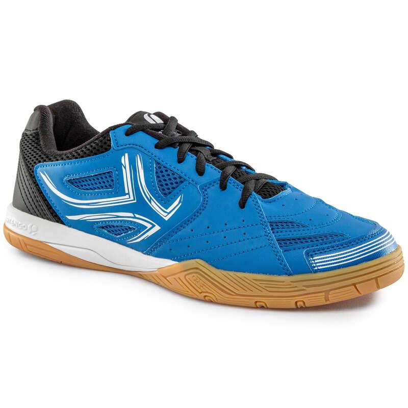 ОБУВКИ ЗА ТЕНИС НА МАСА Тенис на маса - ОБУВКИ TTS 500, СИНИ PONGORI - Облекло и обувки за тенис на маса