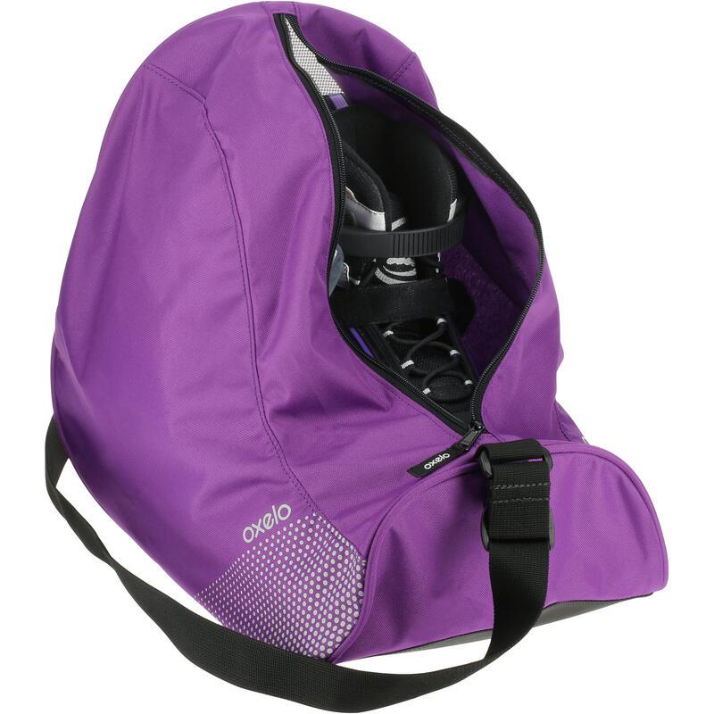 Fit 26-litre Inline Skate Bag - Purple
