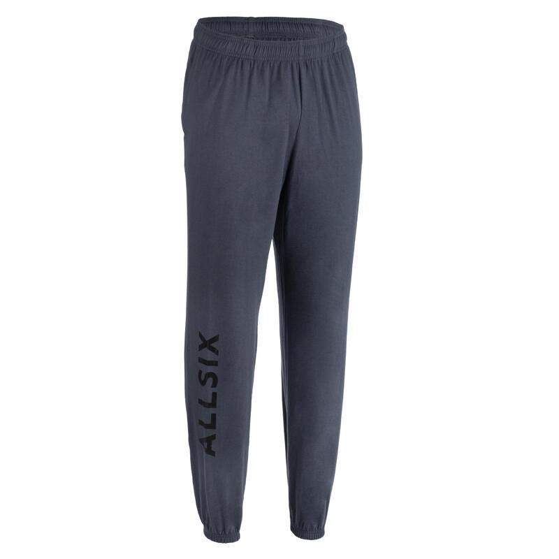 Pantaloni pallavolo uomo VP100 grigi