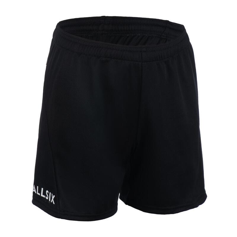 Volleybalshort voor jongens V100 zwart