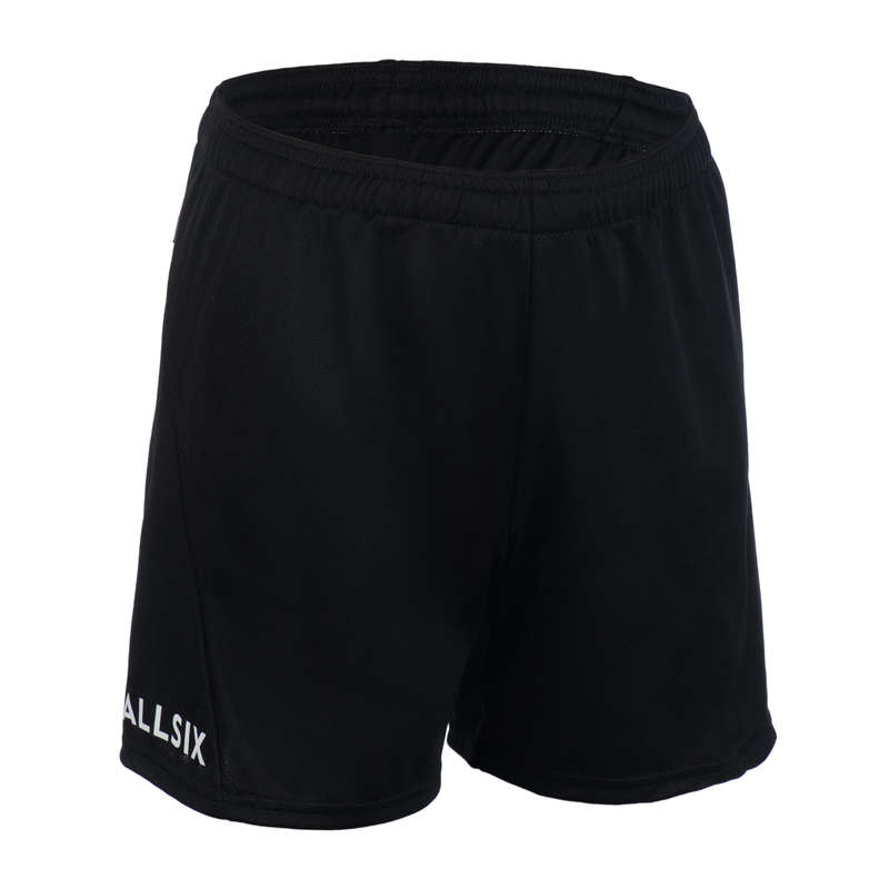 VOLLEY BALL APPAREL Volleyball and Beach Volleyball - Men's VSH100 - Black ALLSIX - Volleyball and Beach Volleyball