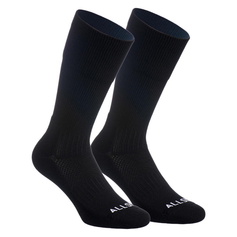 Calcetines de voleibol VSK500 Mid negro