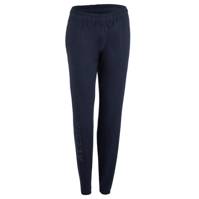 Pantalón de voleibol VP100 Mujer azul oscuro