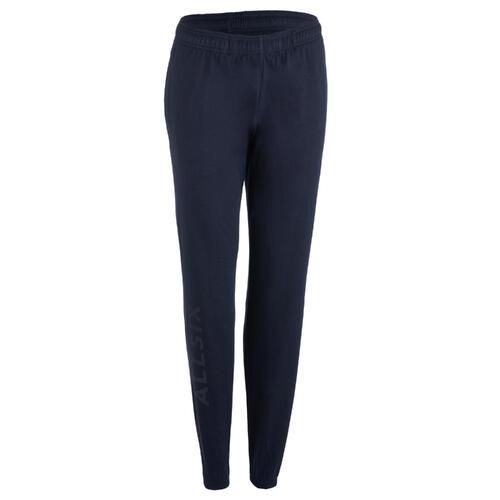 Pantalon de volley-ball VP100 femme bleu foncé