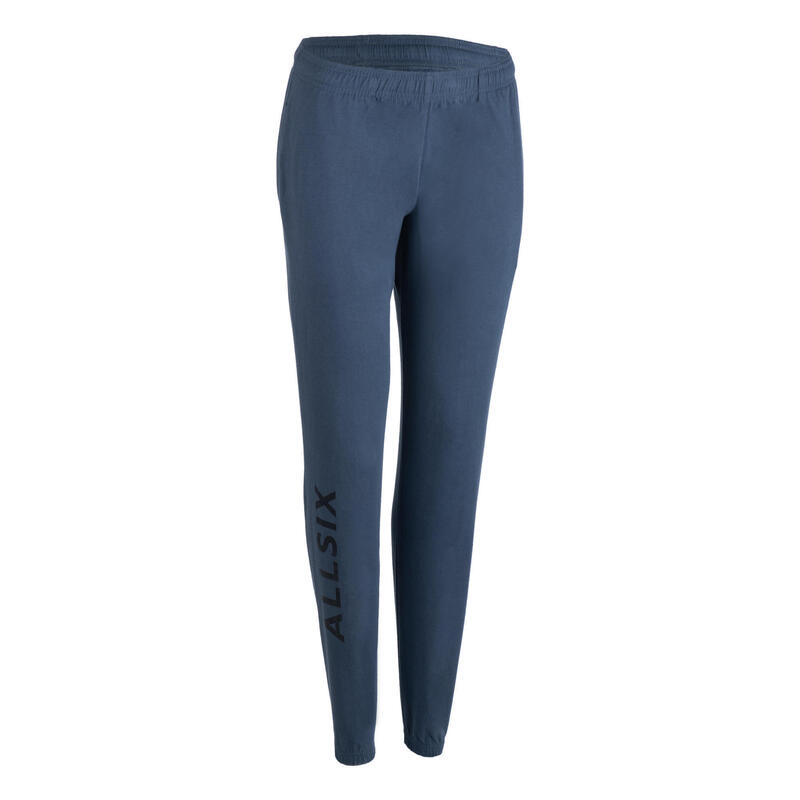 Pantalón de voleibol VP100 Mujer azul
