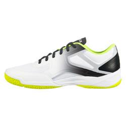 Volleybalschoenen voor heren V500 wit/geel/grijs