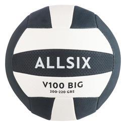 Volleybal VBB100 blauw/wit