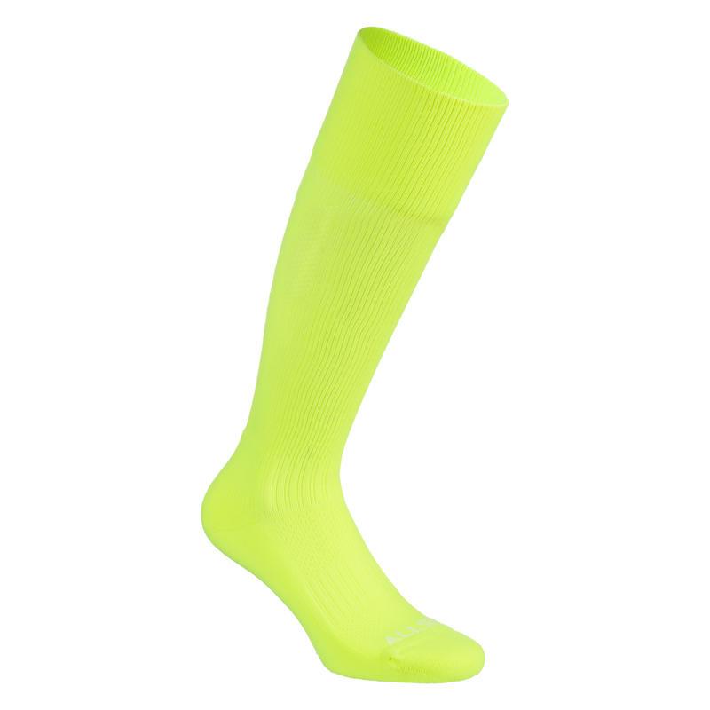 High Volleyball Socks VSK500 - Yellow