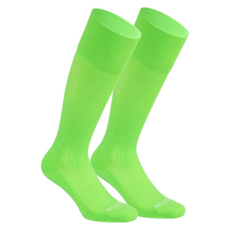 Calcetines largos voleibol Allsix VSK500 verde