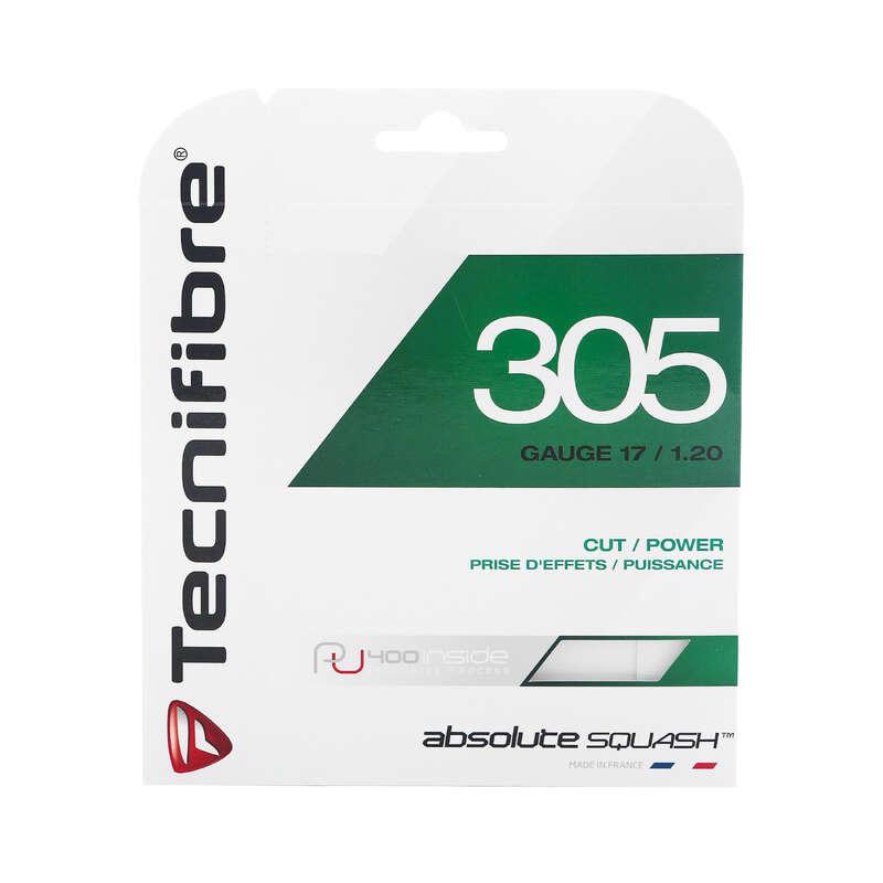 ATELIER SQUASH Sporturi cu racheta - Cordaj Tecnifibre TF305 1.20  TECNIFIBRE - Gripuri, Cordaje si Ochelari
