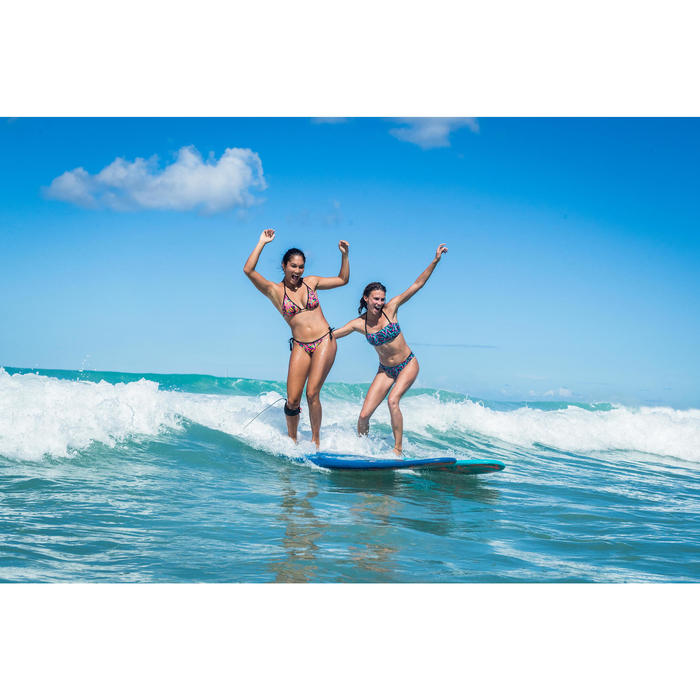 Surfboard Soft top 500 7'8. Geleverd met 1 leash en 3 vinnen.