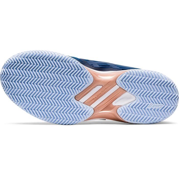 CHAUSSURES DE TENNIS FEMME Solution Speed Clay Bleue