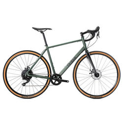 Gravel bike GRVL 120 Microshift groen