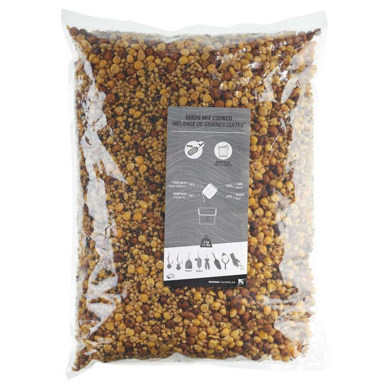MOMELI CRAP Pescuit - 5kg amestec semințe CAPERLAN - Nade, Echipament nadire
