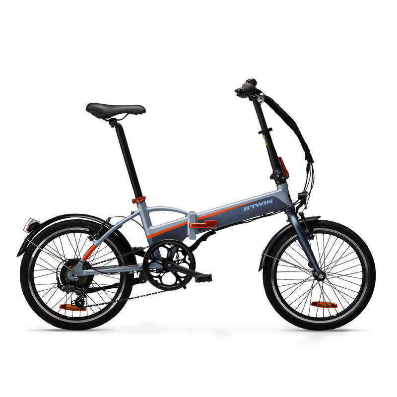 AZ YER KAPLAYAN / KATLANABİLİR BİSİKLET Bisikletler - TILT 500 KATLANIR BİSİKLET BTWIN - EKİPMANLAR