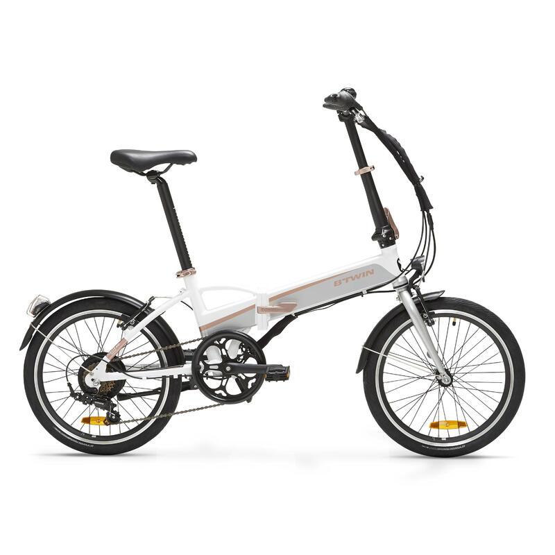 Bici pieghevole a pedalata assistita TILT 500 E bianca