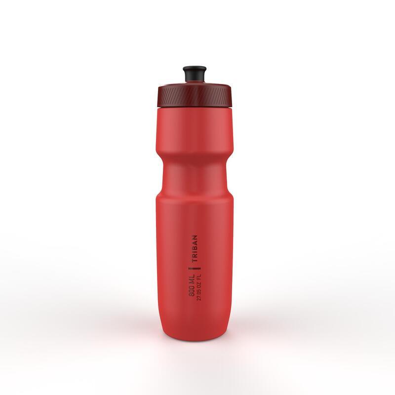 Cyklistická láhev Soft Flow 800 ml červená