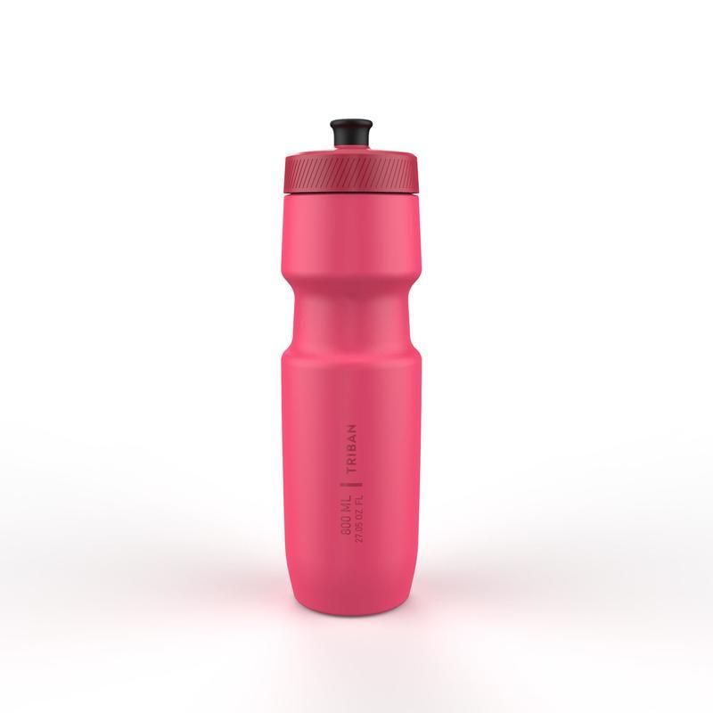Fietsbidon SoftFlow L 800 ml roze