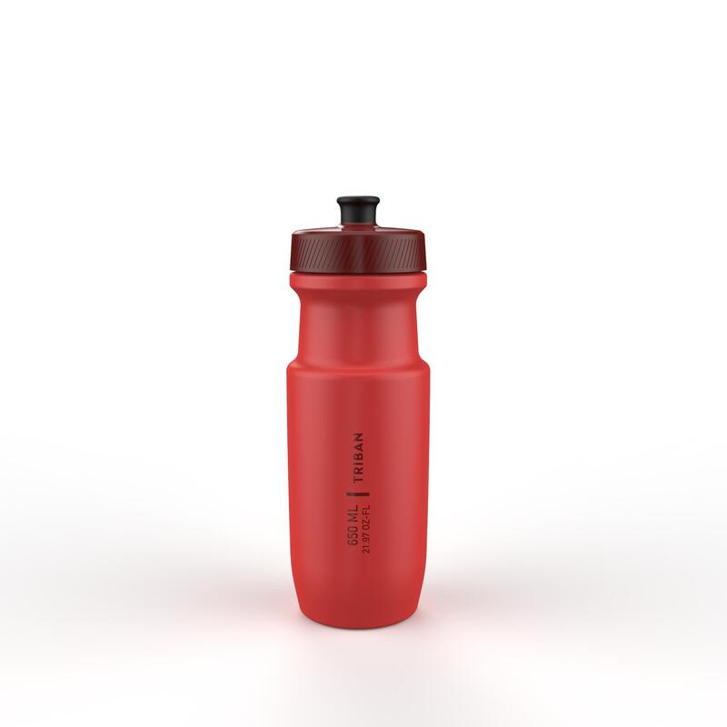 Cyklistická láhev Soft Flow 650 ml červená
