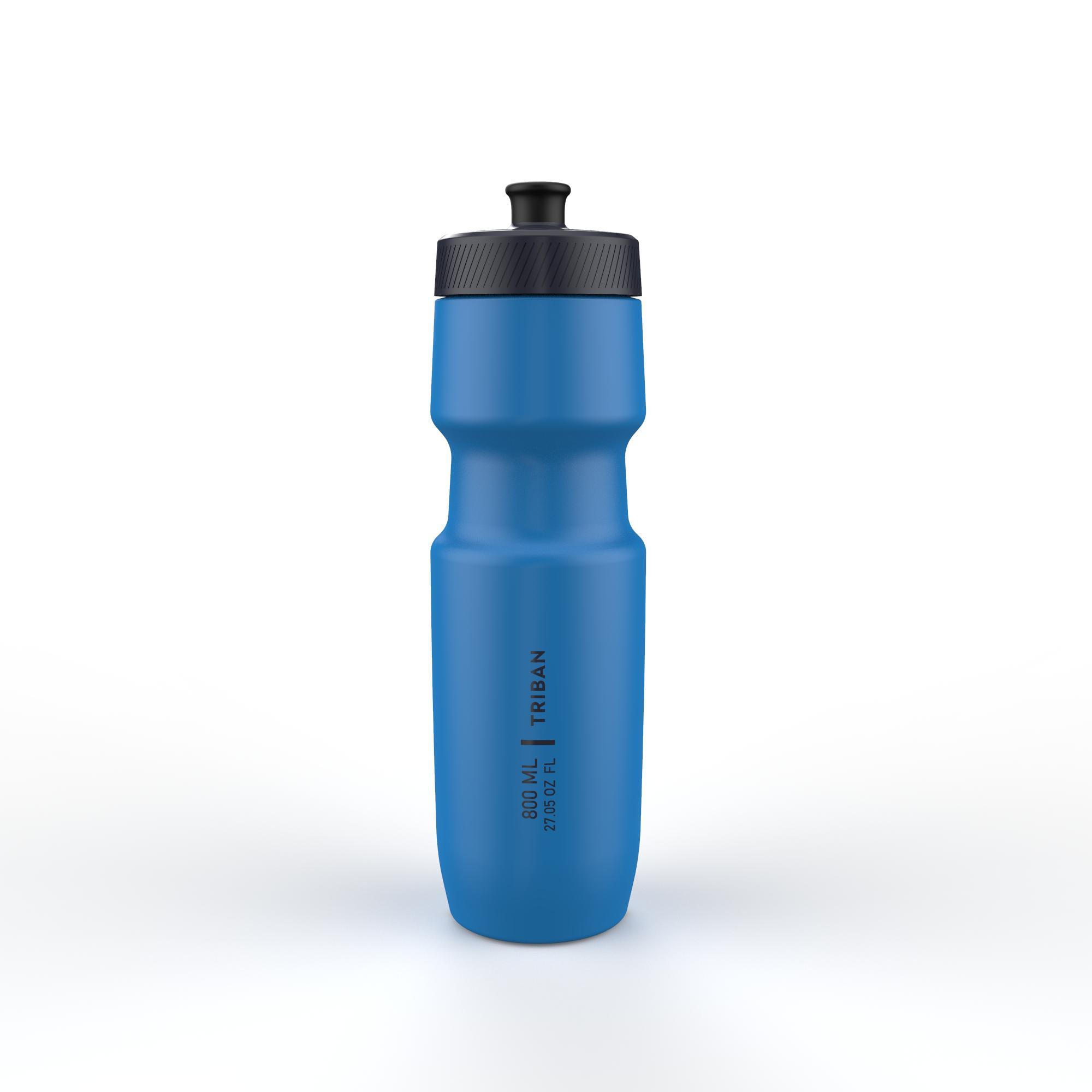 800 ml L Cycling Water Bottle SoftFlow - Blue