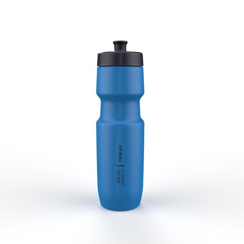 Fietsbidon SoftFlow L 800 ml blauw