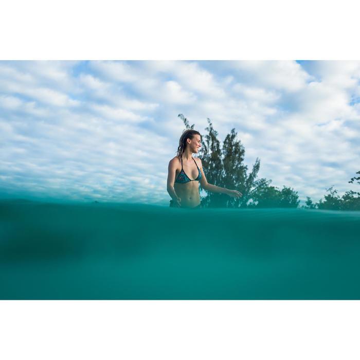 女款可調式三角襯墊泳衣MAE-窄葉款