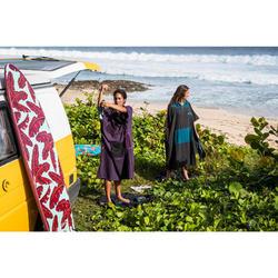 PONCHO SURF 500 ADULTE Violet