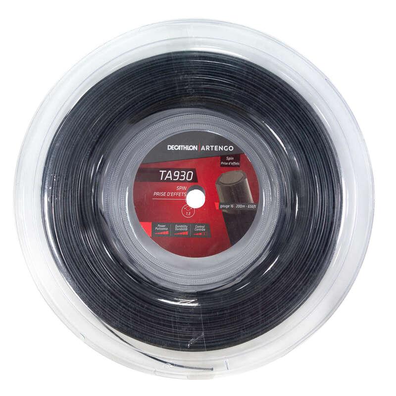 CORDAJ RACHETE TENIS Sporturi cu racheta - Cordaj TA930 Roll Spin 1,3 mm ARTENGO - Mingi de tenis si accesorii