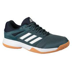 Badminton-/indoorschoenen Adidas Speedcourt blauw/grijs
