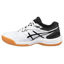 Chaussure de Badminton junior Upcourt 4 GS Blanc