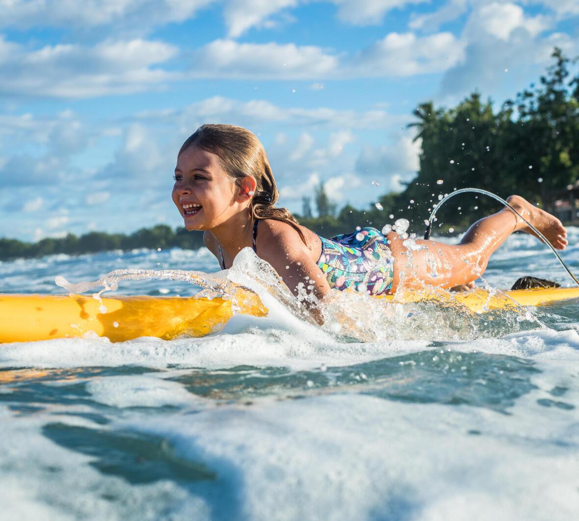 inițiere în surf copii