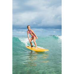 Bikini de Surf TALOO 100 Menina Rosa Pastel