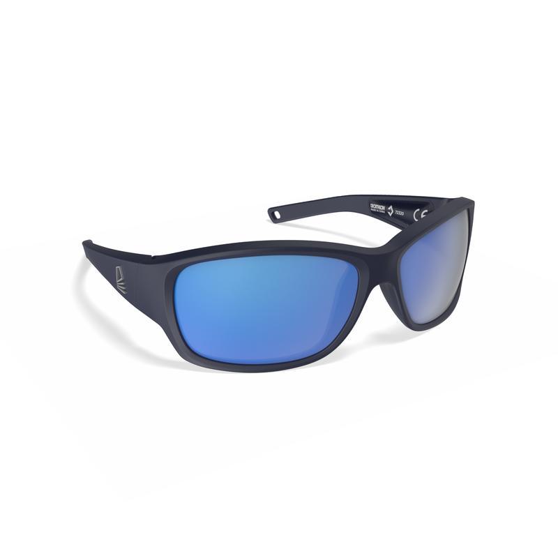 Kids' Sailing Floating Polarised Sunglasses Sailing 100 - Dark Blue