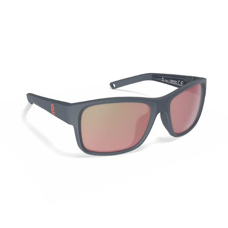 Sailing Floating Polarised Sunglasses 100 Size S - Dark Grey