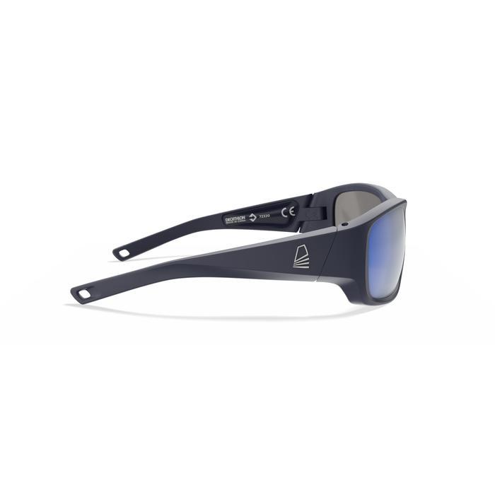 Drijvende zonnebril kind polariserend Sailing 100 donkerblauw