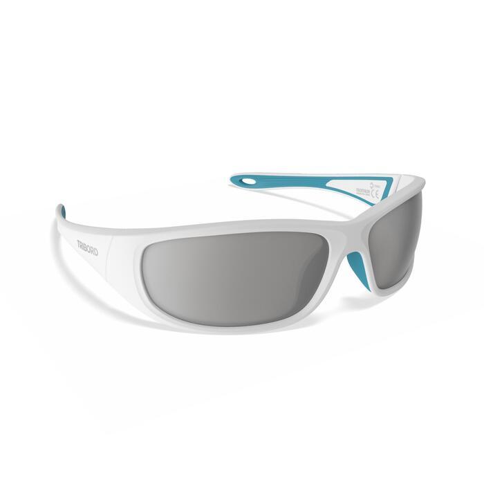 Watersportbril 900 voor volwassenen grijs, drijvend, polariserend categorie 3
