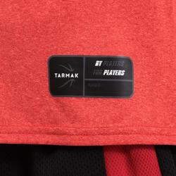 T-SHIRT / MAILLOT DE BASKETBALL POUR GARCON/FILLE ROUGE TS500