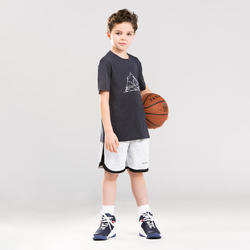 Basketbalshirt voor jongens/meisjes van gevorderd niveau TS500 marineblauw