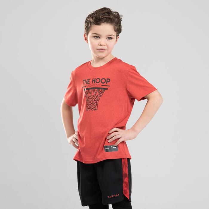 Boys'/Girls' Intermediate Basketball T-Shirt TS500 - Red