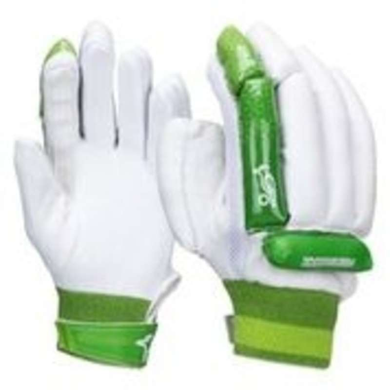 LEATHER BALL BEGINNER PROTECTION JR Cricket - Kookaburra Kahuna left hand KOOKABURRA - Cricket Protection