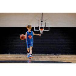 Basketbalshort gevorderde jongens/meisjes blauw/rood SH500