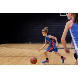 SHORT DE BASKETBALL POUR GARCON/FILLE CONFIRME(E) BLEU ROUGE SH500