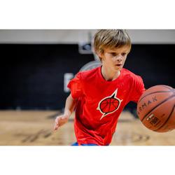 Basketbalshirt voor gevorderde jongens/meisjes TS500 rood