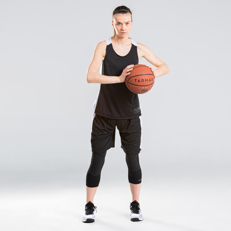Women S Basketball 3 4 Leggings Black