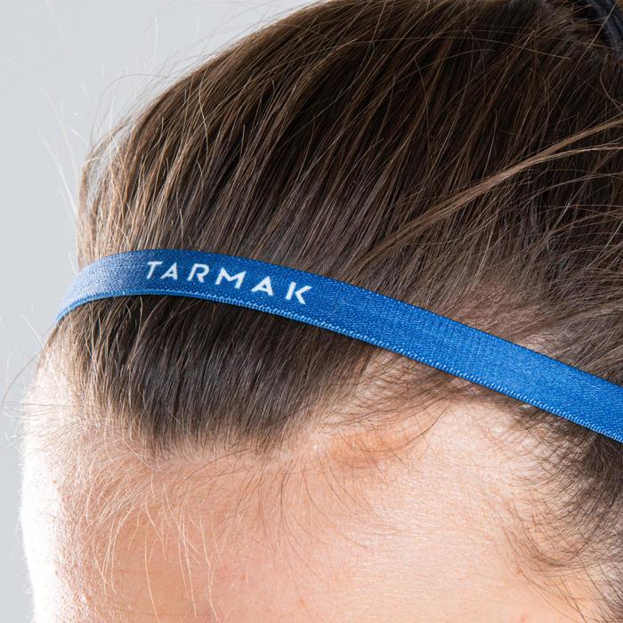 Haarbanden basketbal dames zwart/marineblauw/blauw
