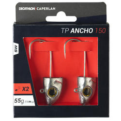 Jigkop voor zeevissen met kunstaas type shad TP ANCHO 150 55 g x2