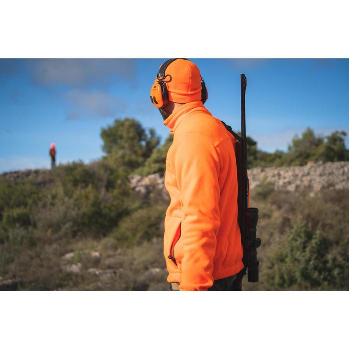 Polaire chasse orange fluo 300